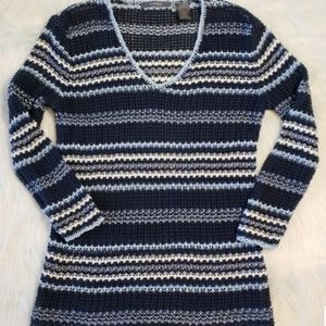 Liz Claiborne knit sweater top size small